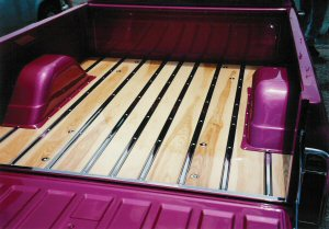 1987 chevy stepside wood bed kit