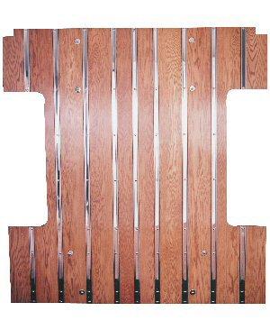 Raised bed floor the 1947 present chevrolet gmc for Wood floor kits for pickups