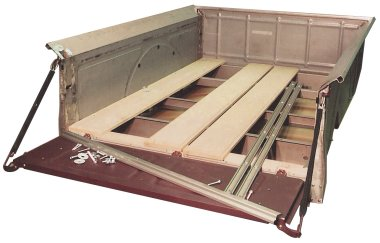 Ford metal to wood floor conversion for Wood floor kits for pickups